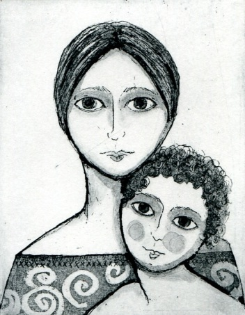 X Mother & Child Sarah Sharpe