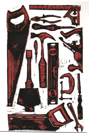 Red Tools - Annie Russell