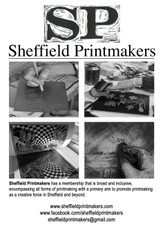 Sheffield Printmakers Flyer 2016-2017