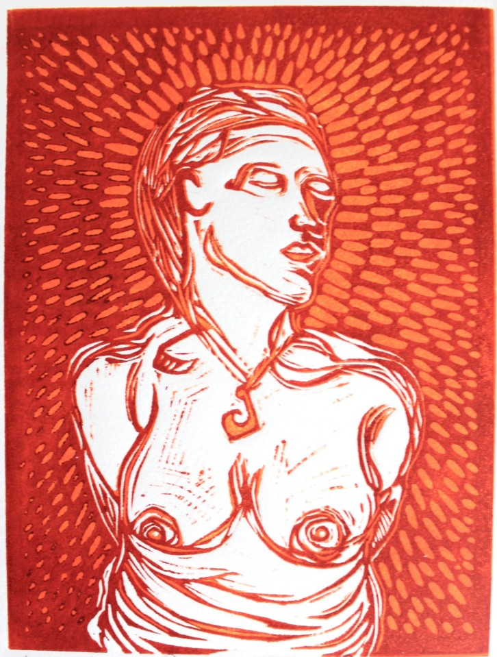 Lino cut image