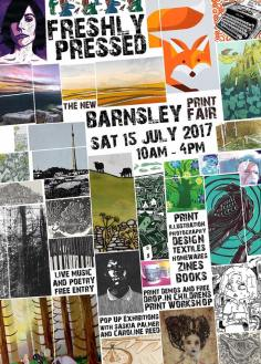 Freshly Pressed Print Fair Flyer, 2017