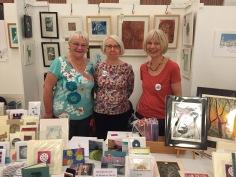 Sheffield Printmakers at the Freshly Pressed Print Fair