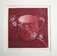 Blackthorn Tea - Bergundy - Jennie Merriman