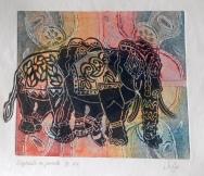 Elephants Jo Pye