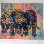 Elephants Jo Pye