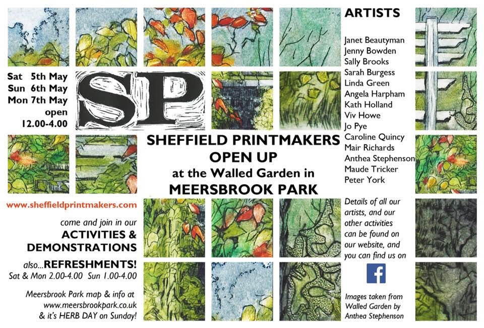 Sheffield Printmakers at Open UP