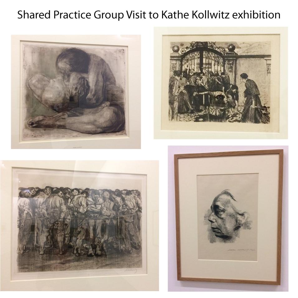 shared practice visit kathe kollwitz
